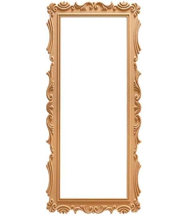 180'Lik Lale Dikdörtgen Ayna