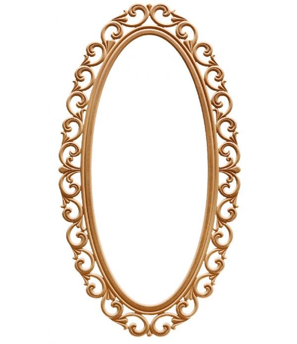 160 Lik Lilyum Oval Ayna
