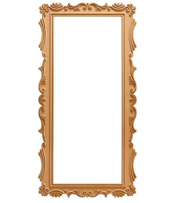 160'Lik Lale Dikdötgen Ayna