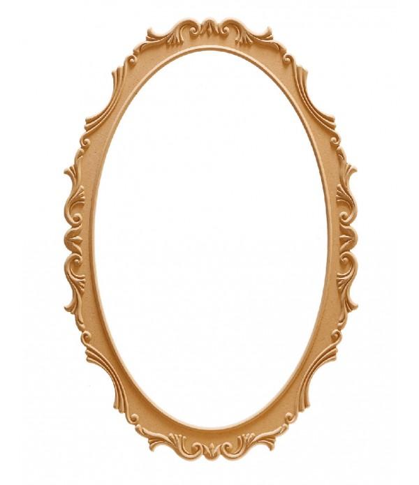 100'Lük Lale Oval Ayna