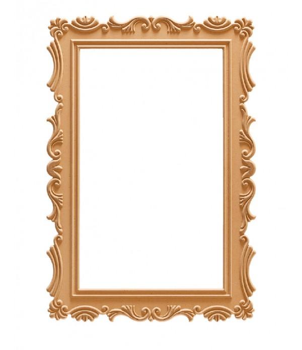 100'Lük Lale Dikdörtgen Ayna