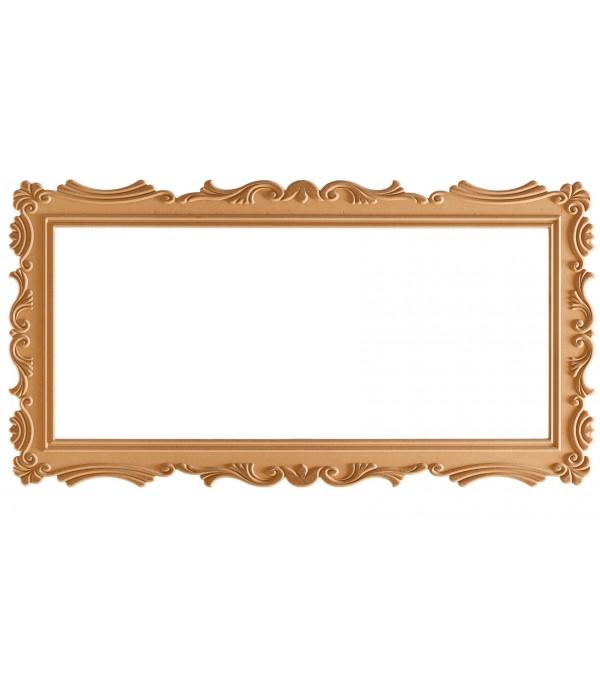 140'Lik Lale Dikdörtgen Ayna