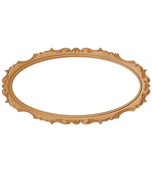 140'Lik Lale Oval Ayna