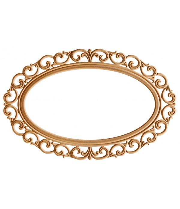 120'Lik Lilyum Oval Ayna