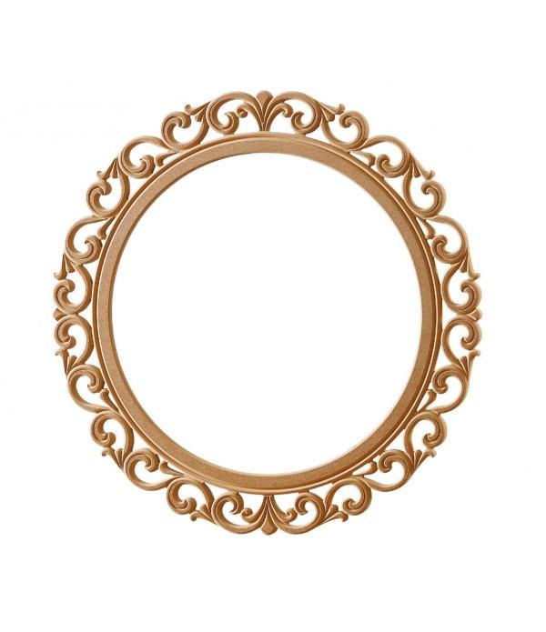 Lilyum Yuvarlak Ayna