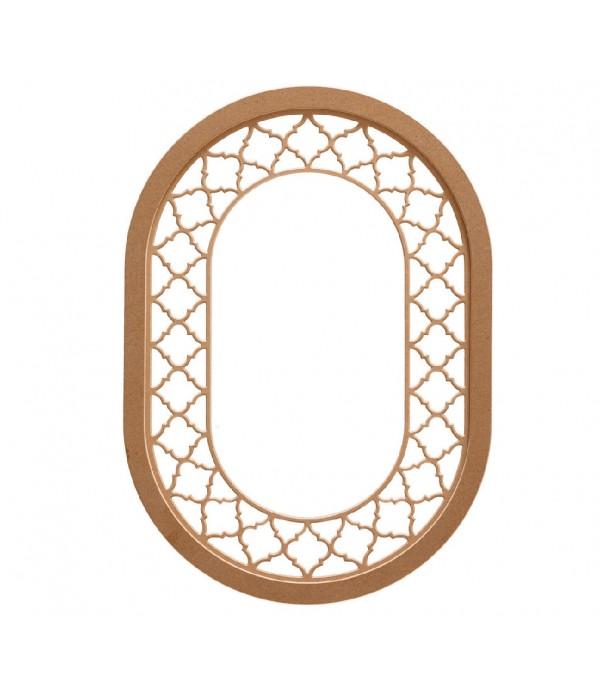 92'Lik Osmanli Oval Ayna