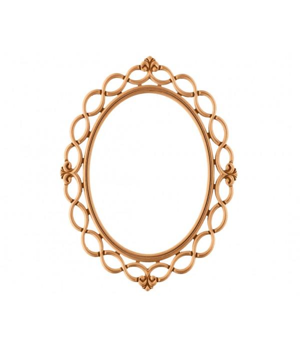 Ufak Burma Oval Ayna