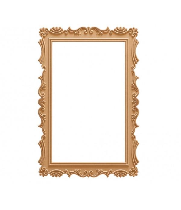 86'Lik Lale Dikdörtgen Ayna
