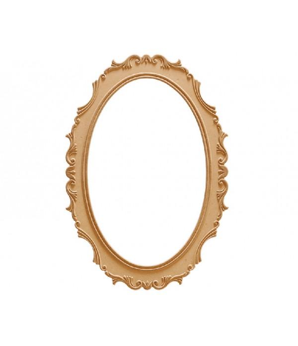 84'Lük Lale Oval Ayna