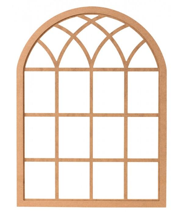 120'Lik Antik Pencere