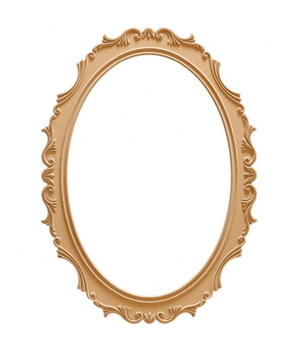 110'Luk Lale Oval Ayna