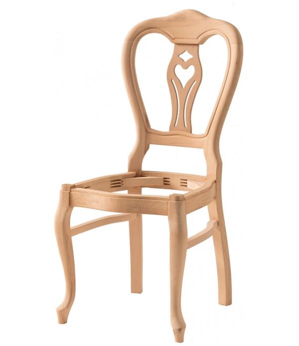 Kontrali Oymalı Lükens Sandalye