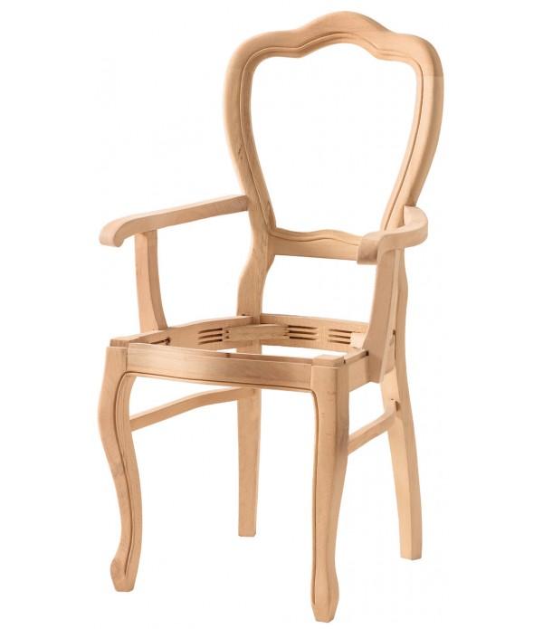 Hasırlı Klasik Kollu Sandalye