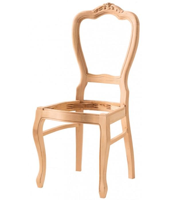 Hasırlı Klasik Oymalı Sandalye