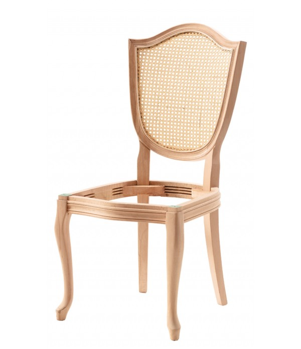 Kupa Tornalı Oymalı Sandalye