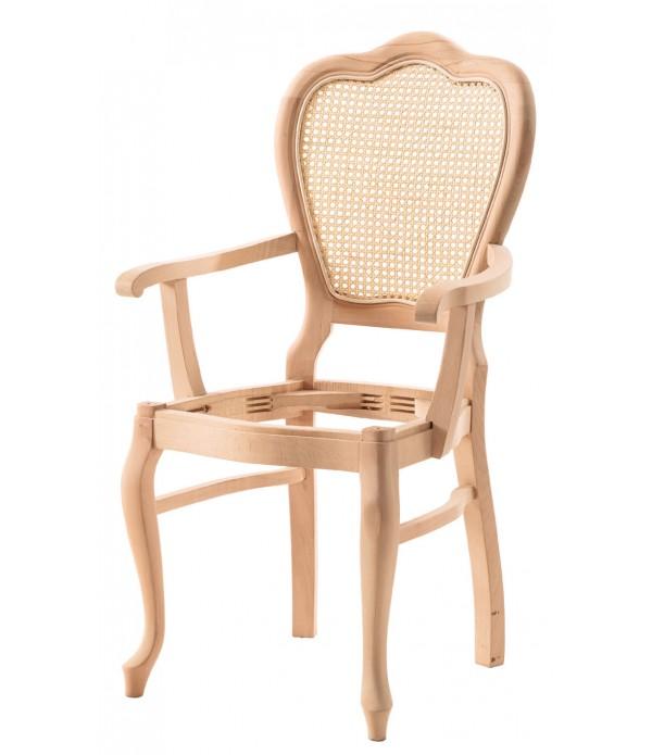 Klasik Lükens Oymalı Sandalye