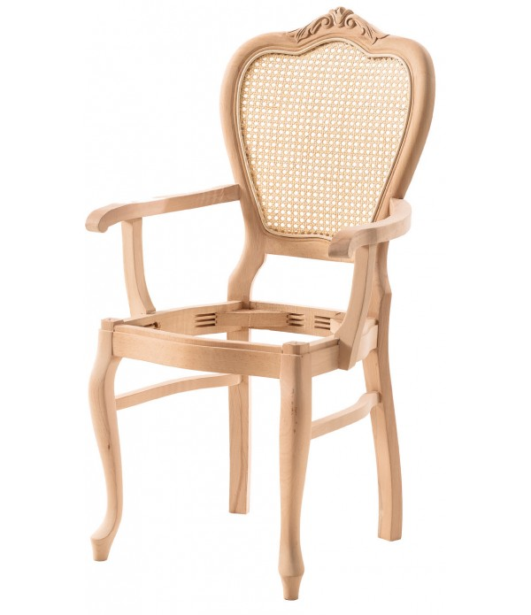 Madalyon Oymalı Sandalye