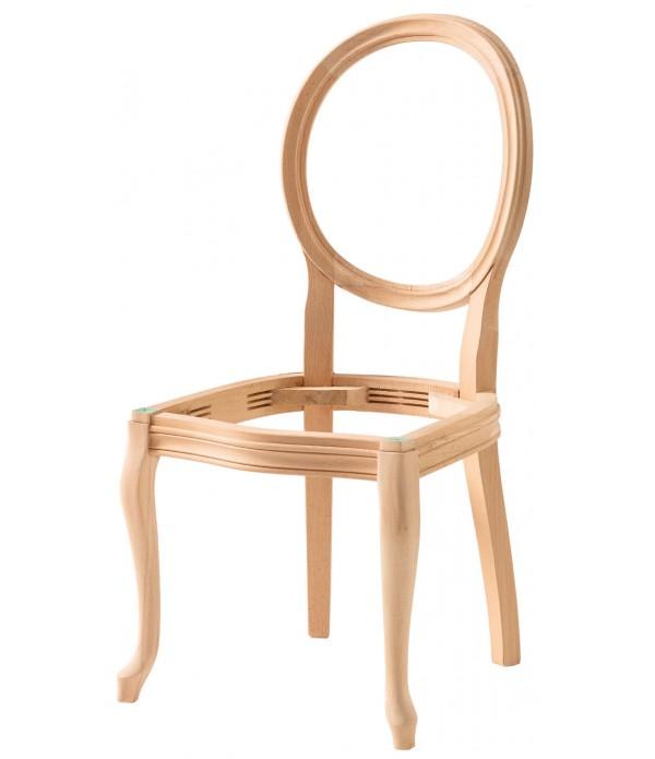 Hasırlı Madalyon Sandalye