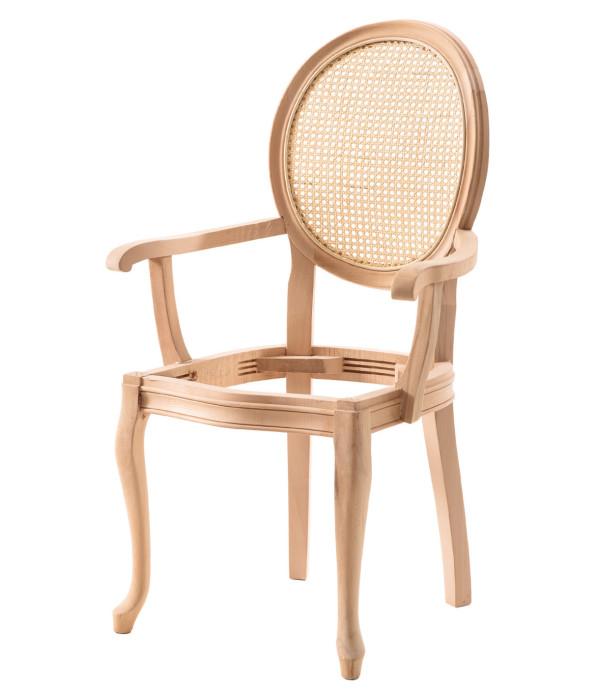 Tornalı Oymalı Sandalye