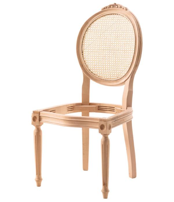 Tornalı Oymalı Kollu Sandalye
