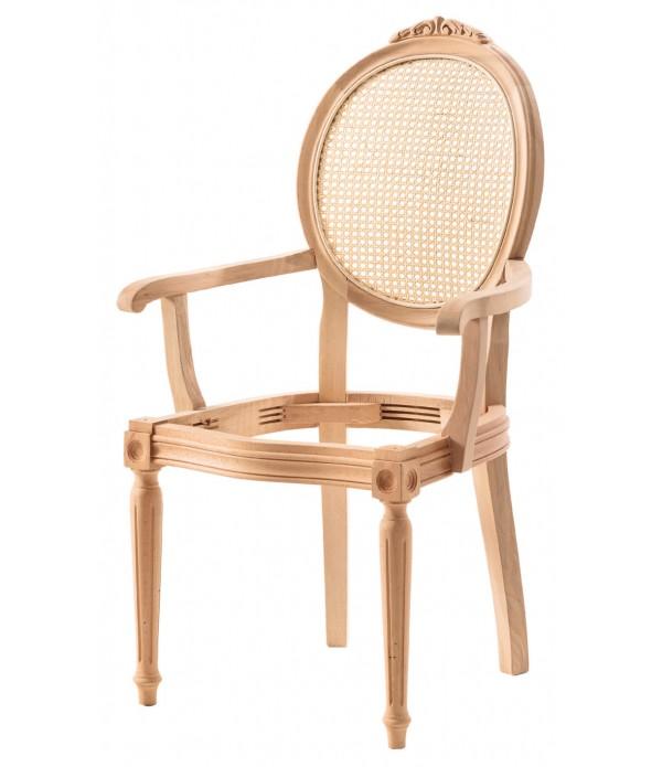 Hasırlı Tornalı Oymalı Kollu Sandaly...