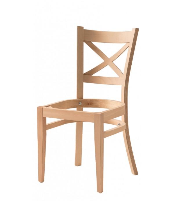 Çapraz Papel Döşemeli Sandalye
