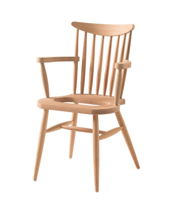 Yildiz Döşemeli Kollu Sandalye