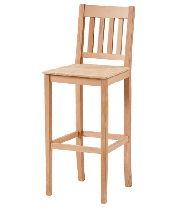 4 Çıtalı İzgarali Bar Sandalye