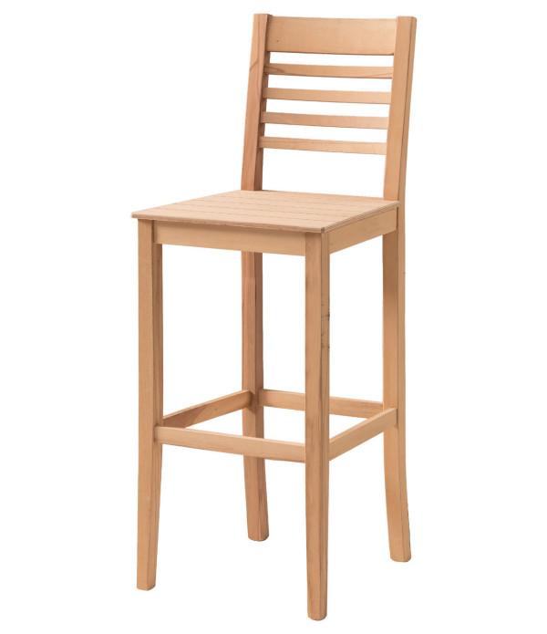 Kavisli Çıtalı Bar Sandalye